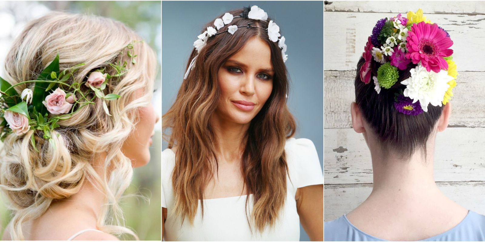 12 pretty flower crowns and floral hairstyles flower hairstyles dhlflorist Images