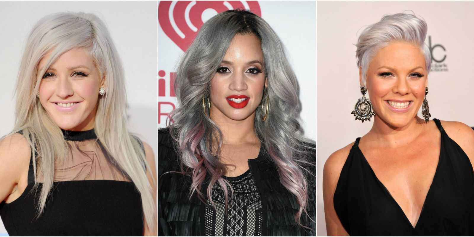 Silver Hair Color Ideas  Celebrity Silver Hair Dye Shades - Silver hair styles