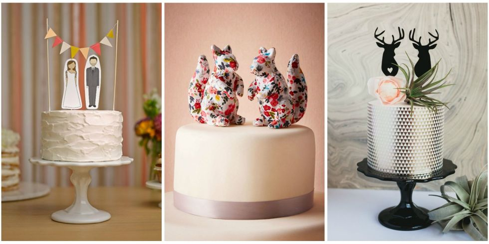 Unique Wedding Cake Toppers - 16 hilariously creative wedding cake toppers