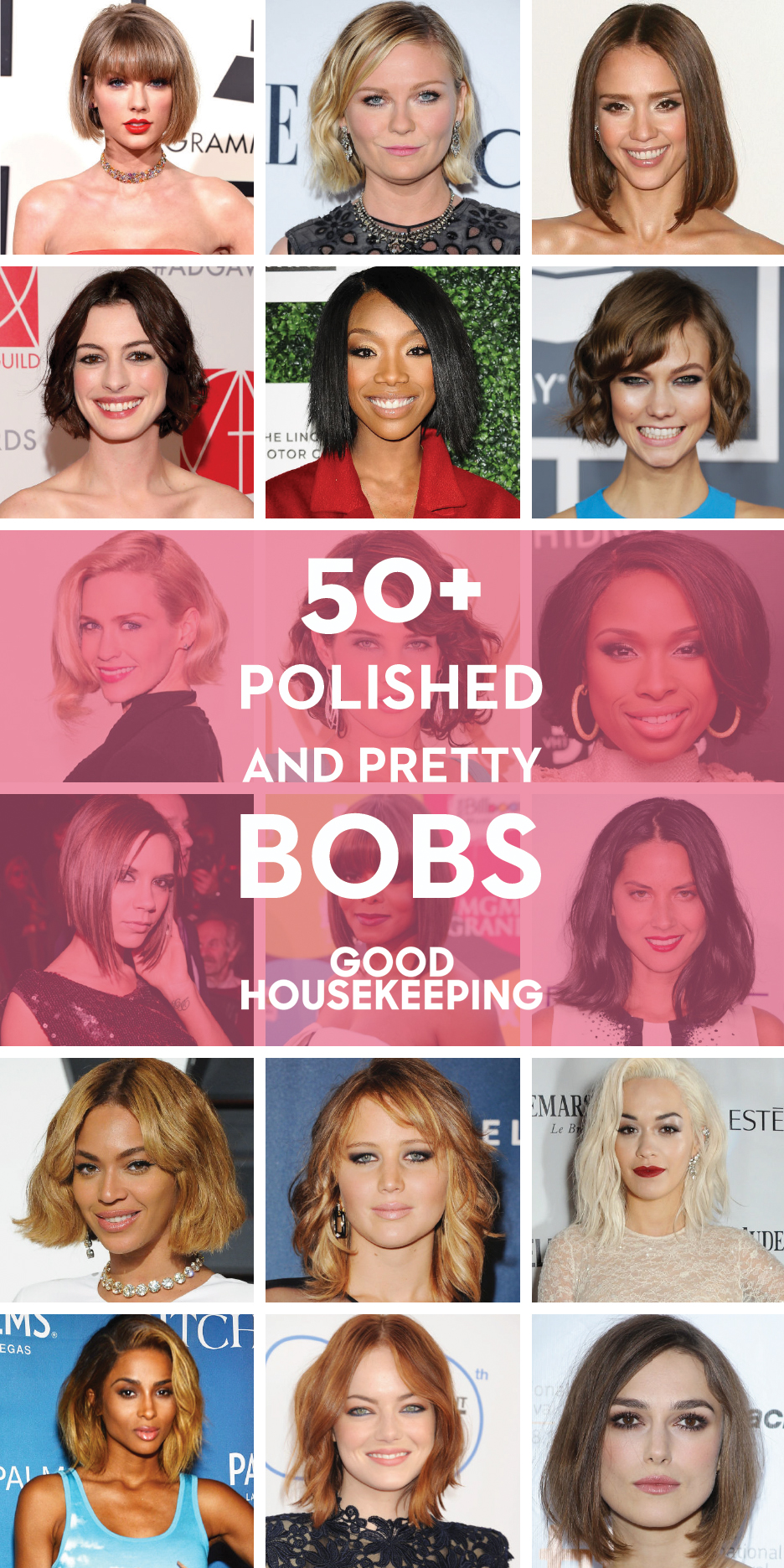 55+ Cute Bob Haircuts and Hairstyles Inspired by Celebrities 2017 ...