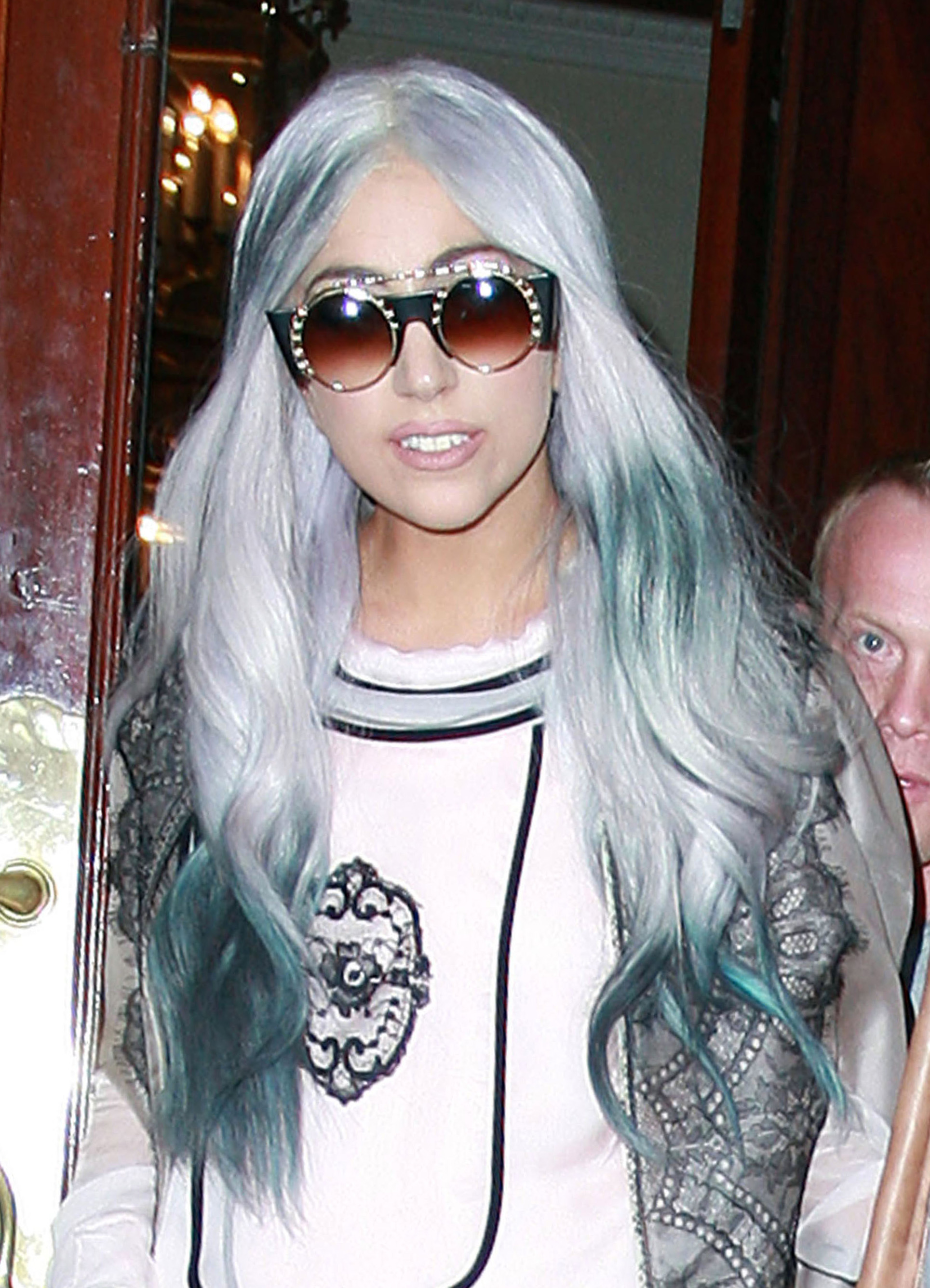 Gray Hair Colors Rihanna