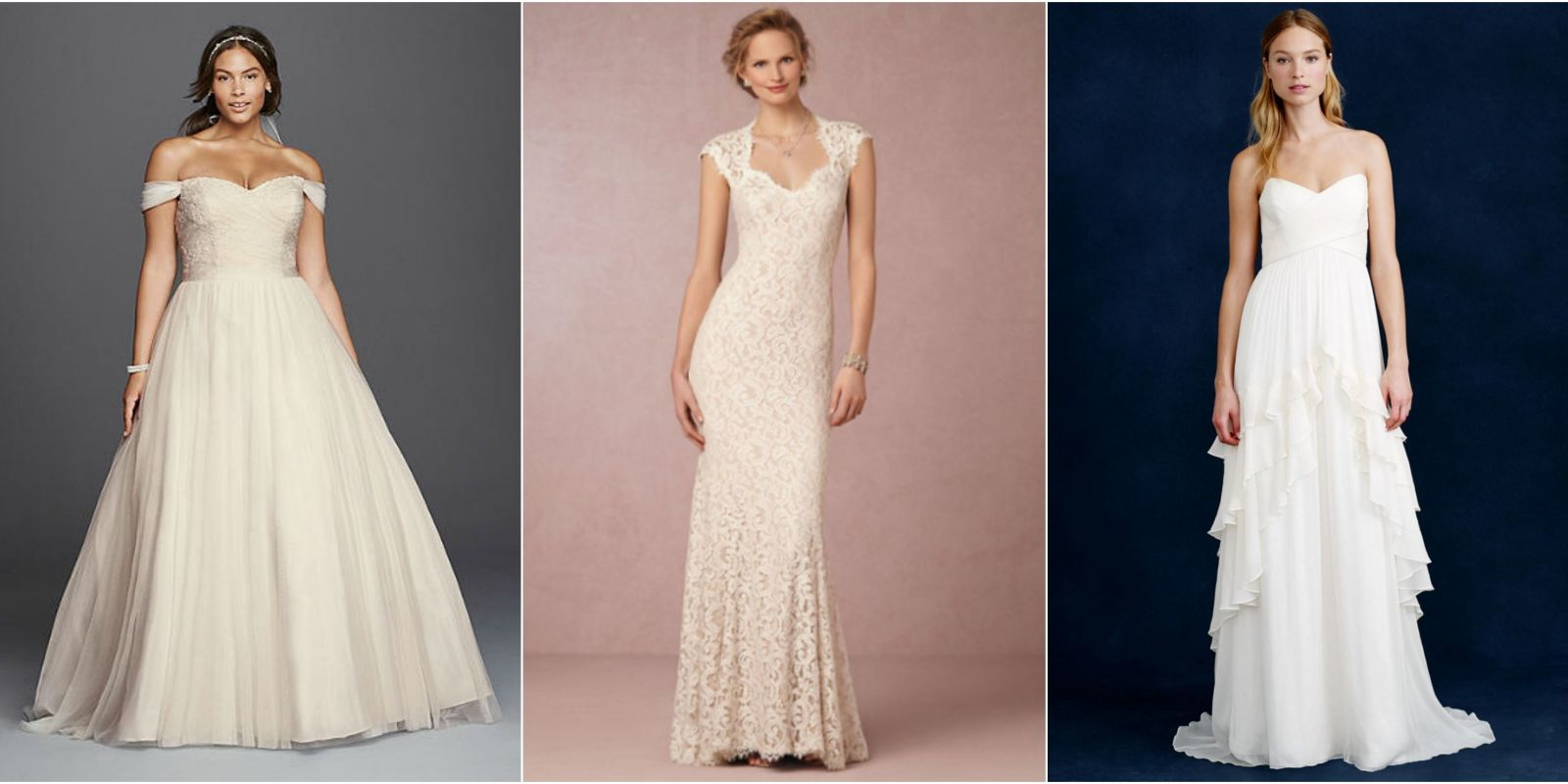 Discount Wedding Gowns: 20 Cheap Wedding Dresses Under $1,000 That Look Expensive