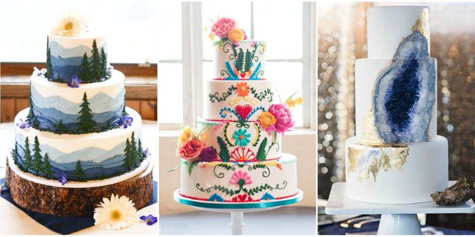 These crazy wedding cakes are truly unique and creative.