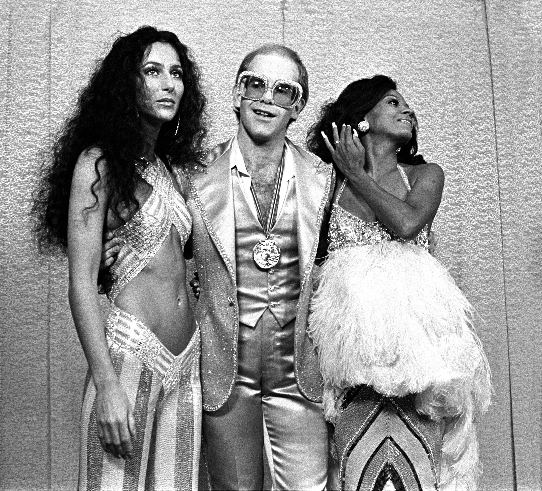 Elton Johns Life Through The Years Young Elton John Photos