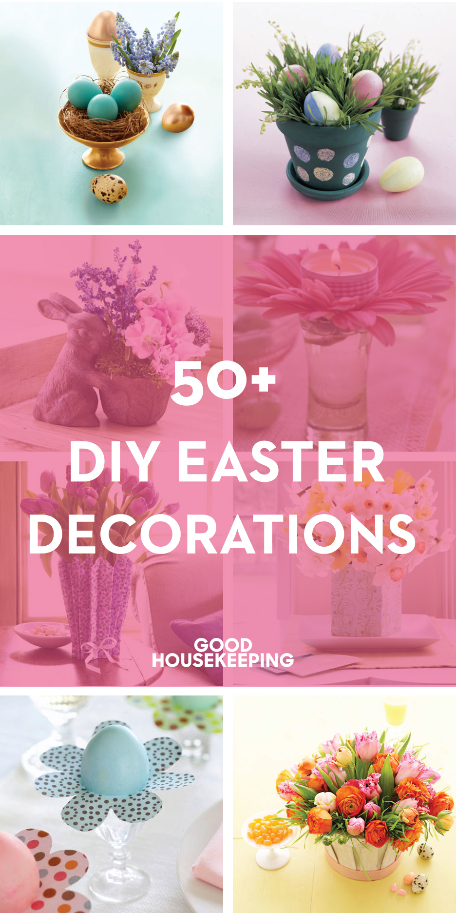 80 diy easter decorations ideas for homemade easter for Diy easter decorations home