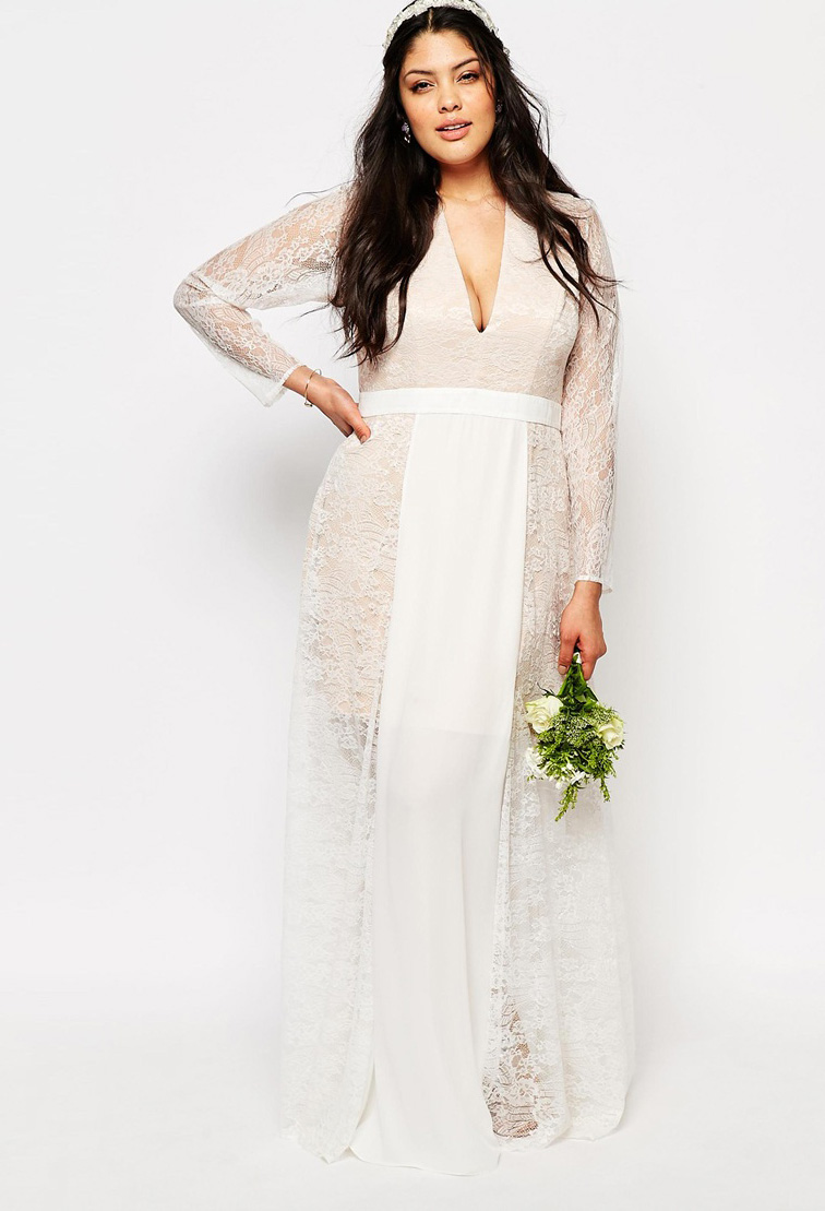 Plus size wedding dresses for under plus size prom dresses for Discount plus size wedding dresses