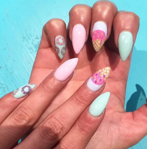 30 Summer Nail Designs For 2017 Best Polish Art Ideas