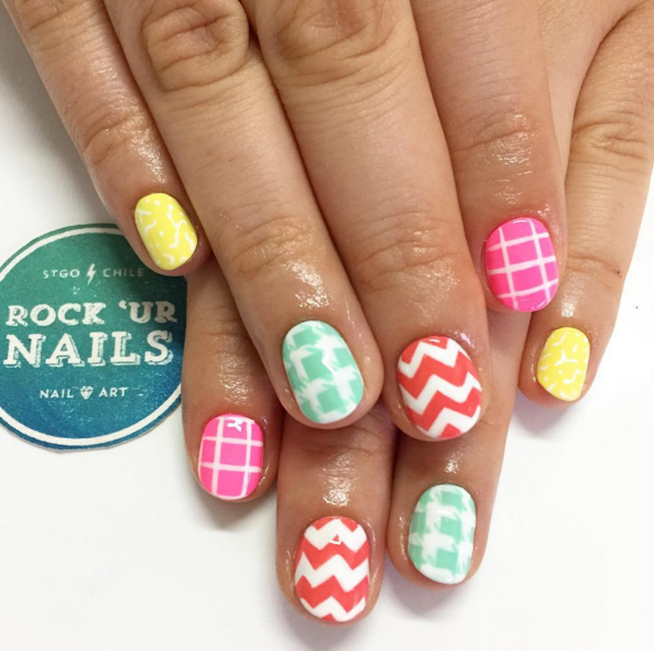 Summertime Nail Art Designs