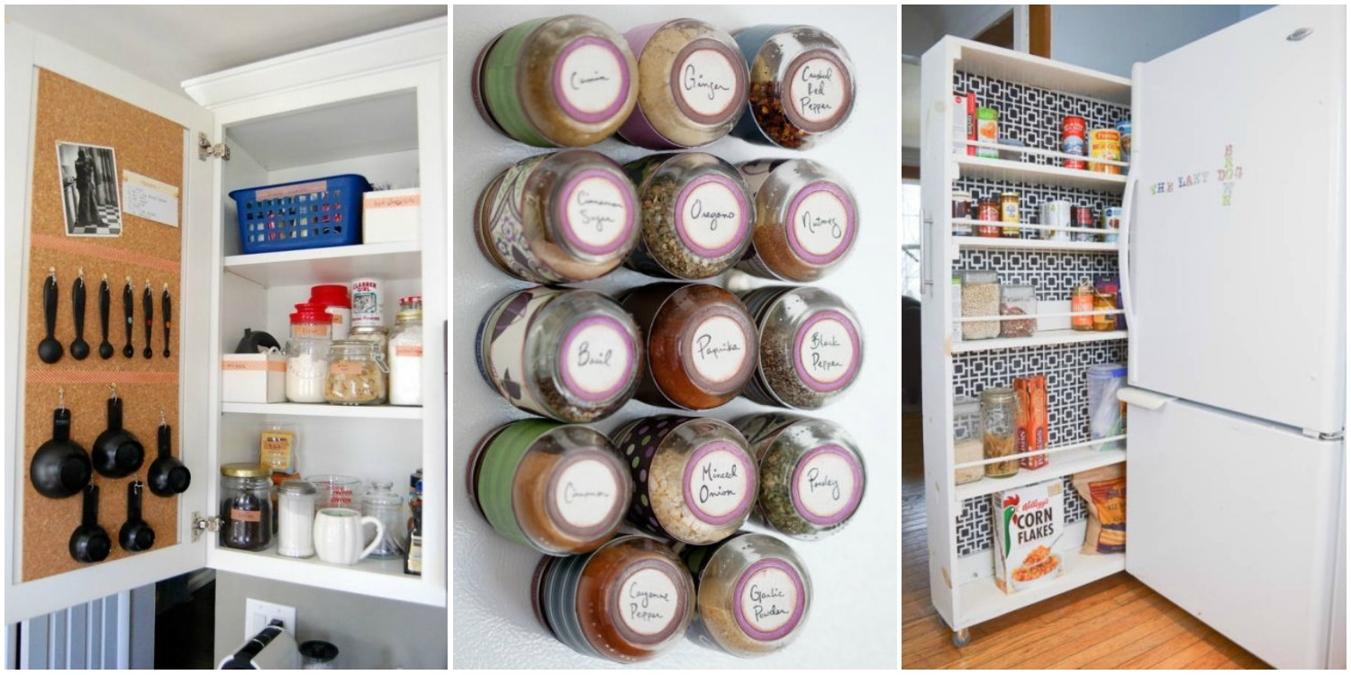 The 25 Best Tips For Your Most Organized Kitchen Ever