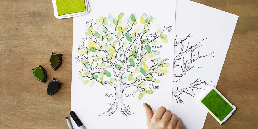 Teach Your Kids About Their Roots With This Delightful Family Tree ...