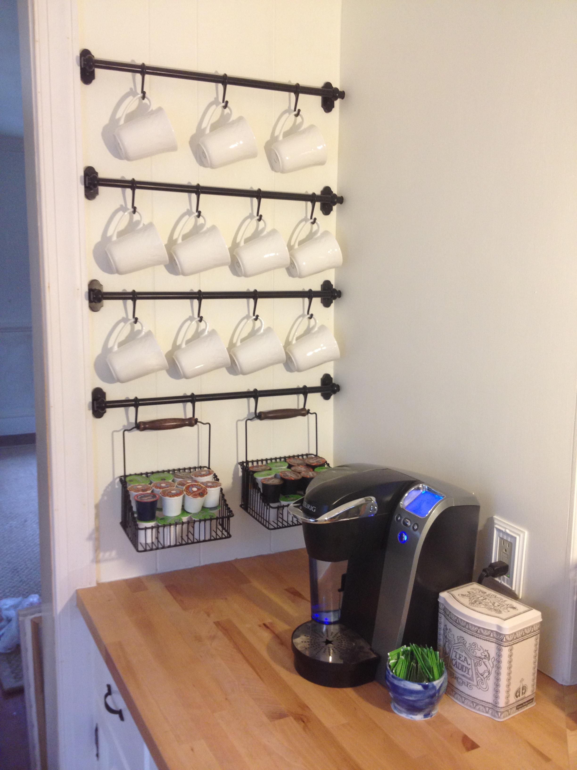 How to Organize Your Coffee Cups - Kitchen Coffee Mug Organization ...