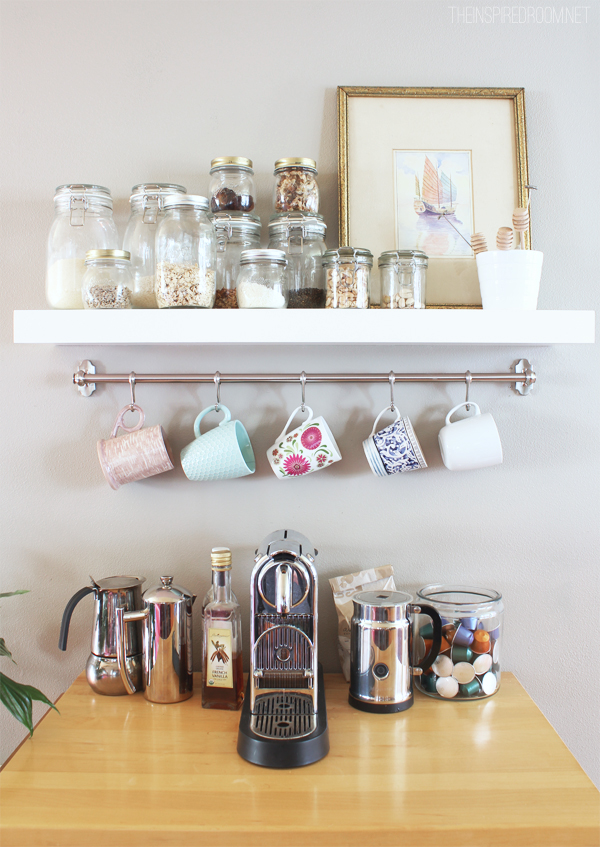 How To Organize Your Coffee Cups Kitchen Mug Organization Ideas