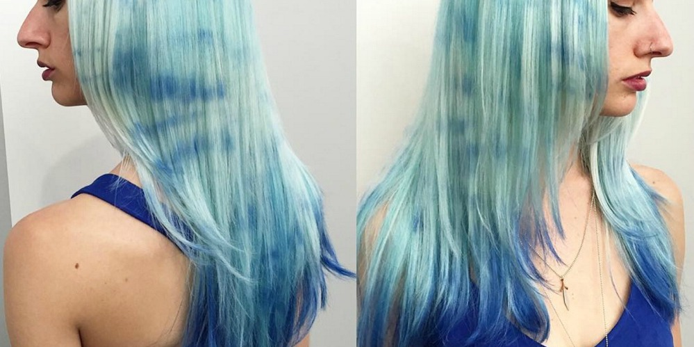 The Tie-Dye Hair Color Trend — How DIY a Tie-Dye Hairstyle