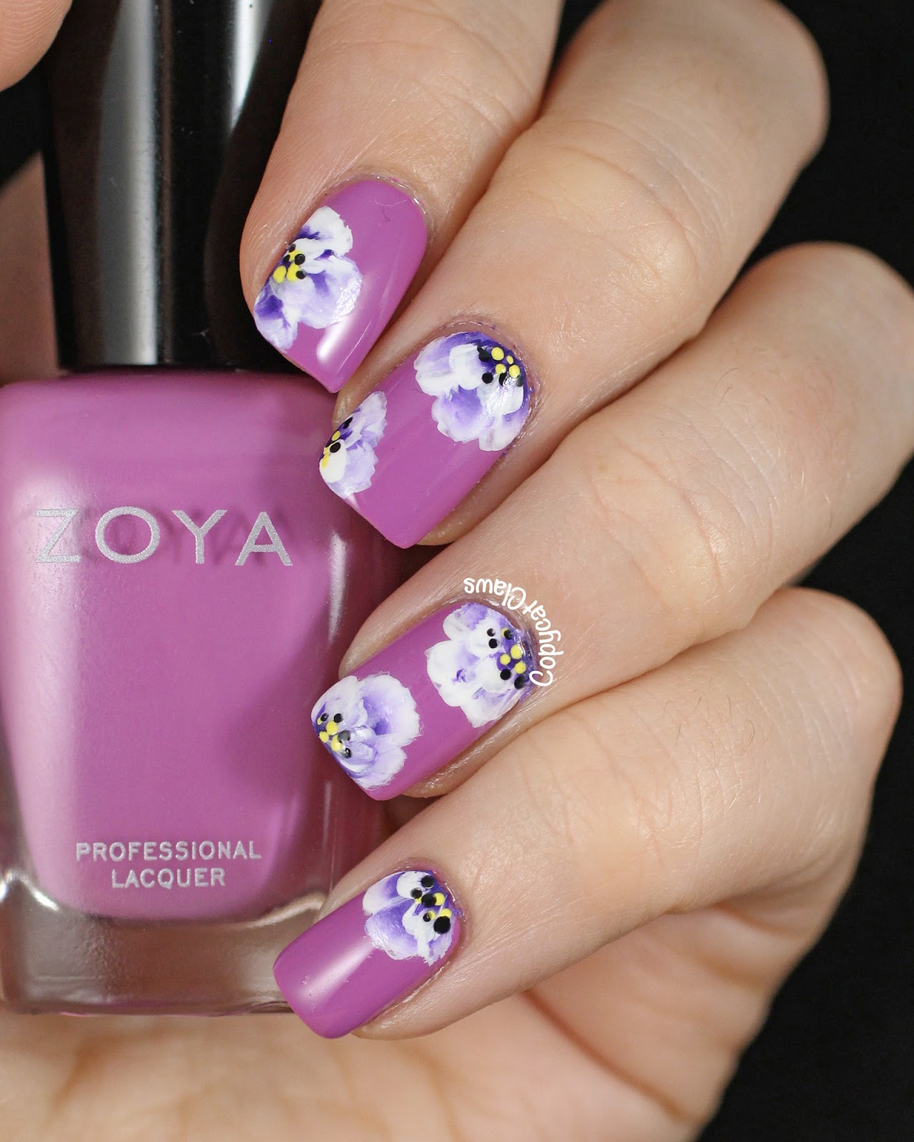 Simple Nail Art Designs Gallery: Floral Manicures For Spring And