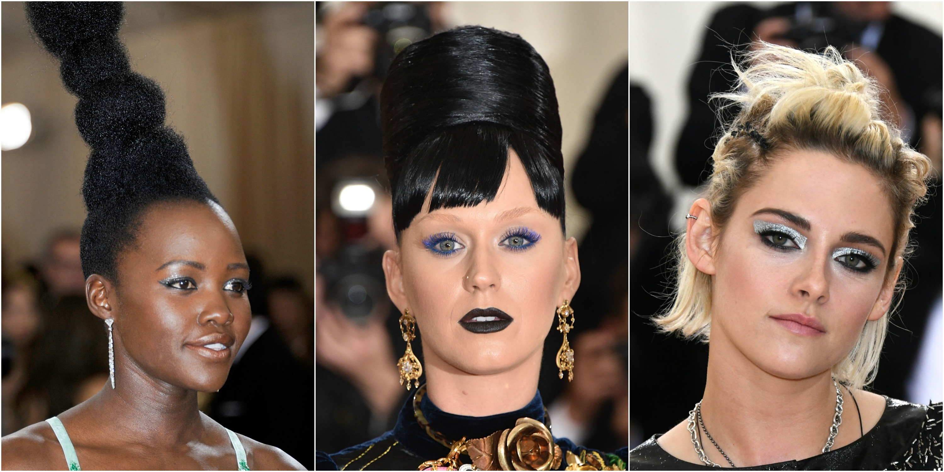 6 Craziest Hairstyles From The 2016 Met Gala Red Carpet