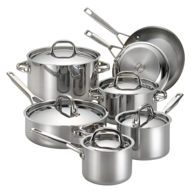anolon triply clad - Calphalon Tri Ply Stainless Steel