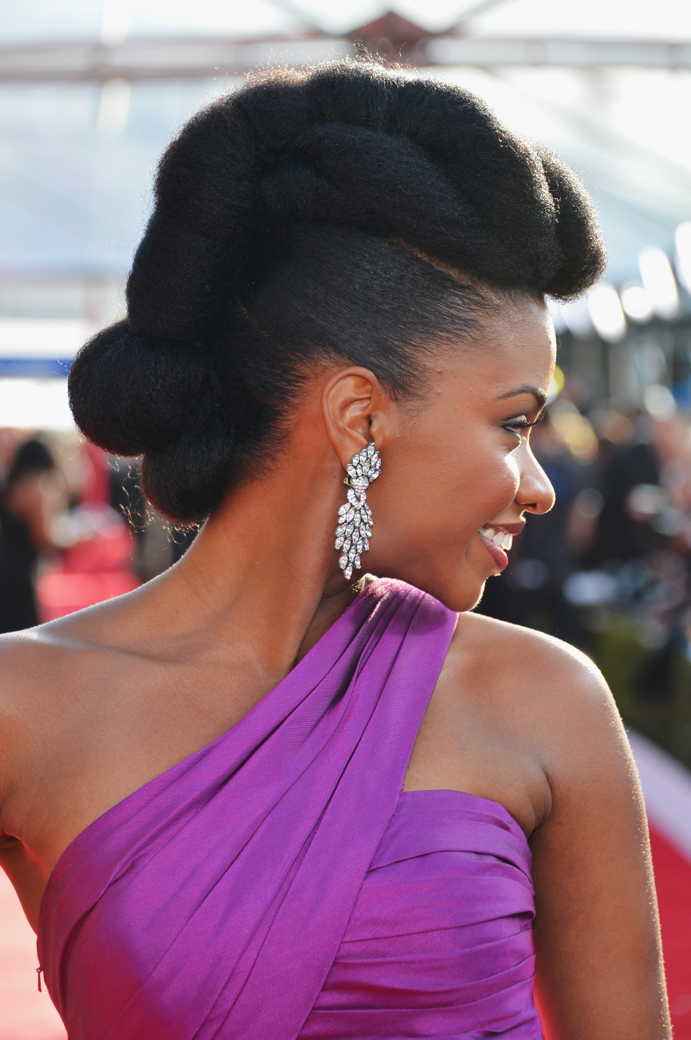 Hair Styles For Natural Black Hair 25 Easy Natural Hairstyles For Black Women  Ideas For Short .