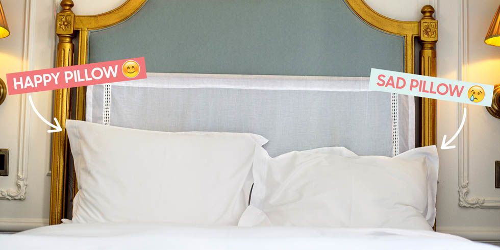 Fit Crafty Stylish And Happy Guest Bathroom Makeover: How To Present A Pillow Like A Hotel Housekeeper