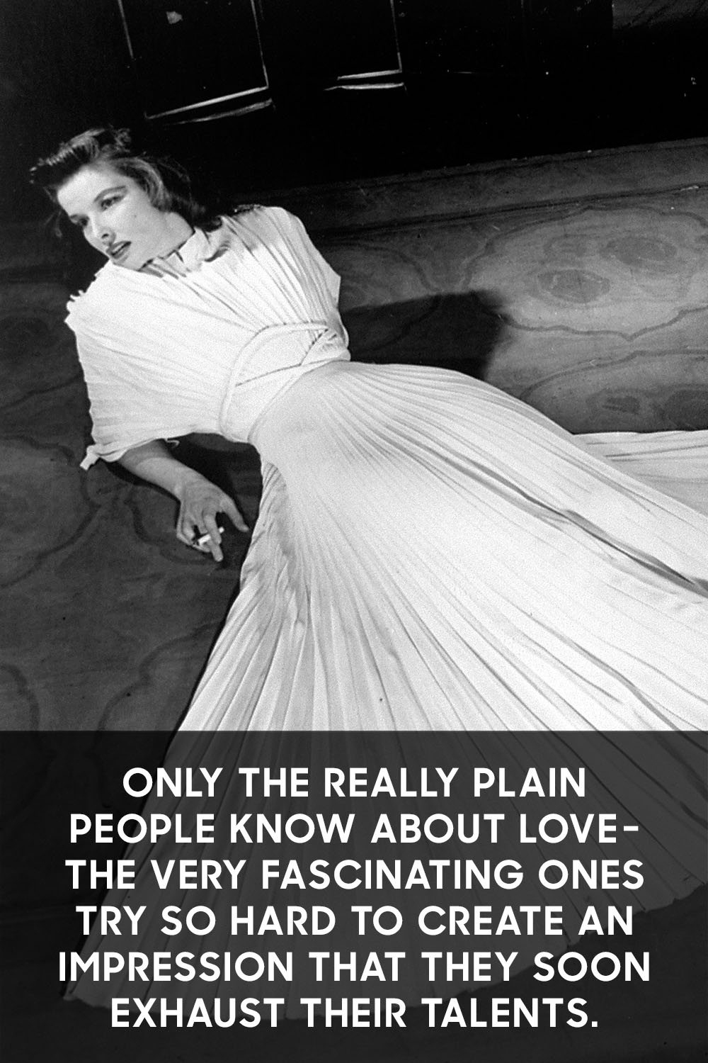 The 16 Best Katharine Hepburn Quotes On Love Life And