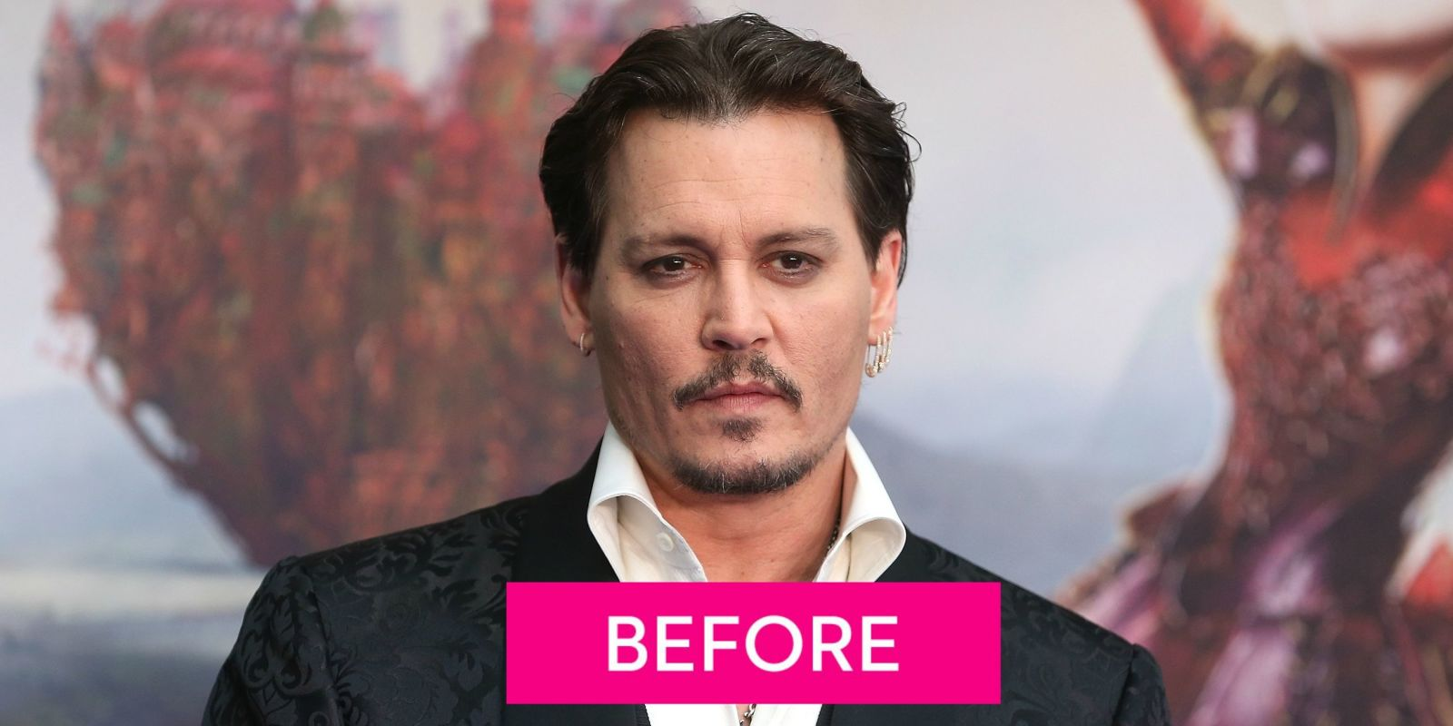 Incredible Johnny Depp39S Haircut Looks Like Edward Scissorhands Johnny Short Hairstyles Gunalazisus
