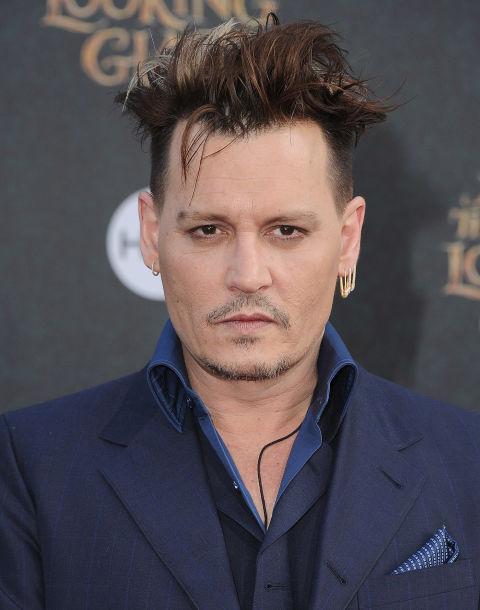 Johnny Depp S Haircut Looks Like Edward Scissorhands