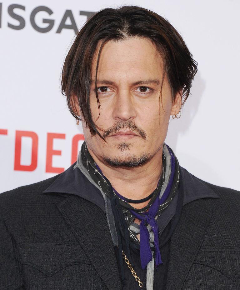 Magnificent Johnny Depp39S Haircut Looks Like Edward Scissorhands Johnny Short Hairstyles Gunalazisus
