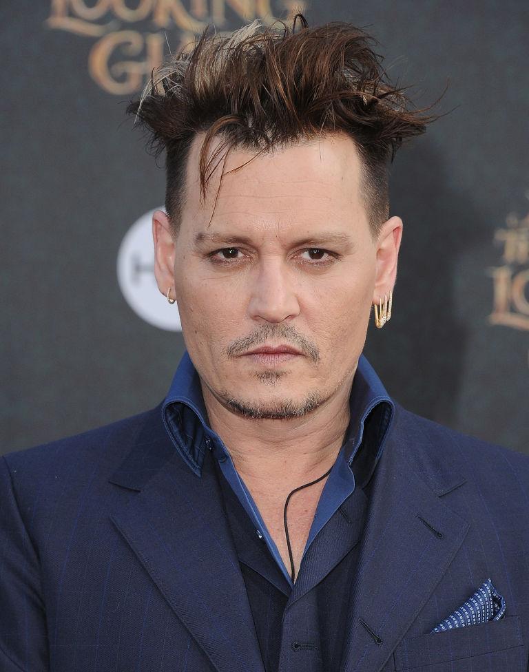 Awe Inspiring Johnny Depp39S Haircut Looks Like Edward Scissorhands Johnny Short Hairstyles Gunalazisus