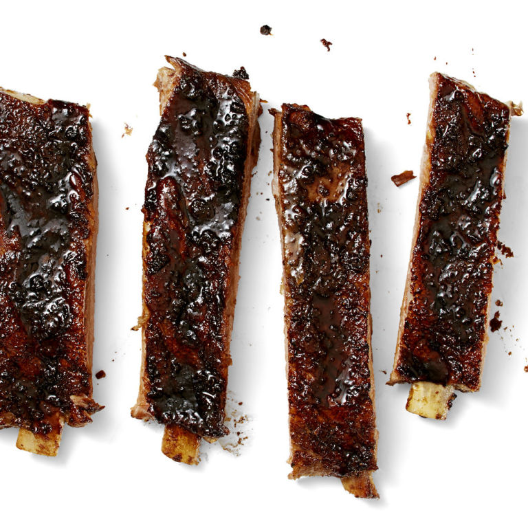 how to prepare smoked pork ribs