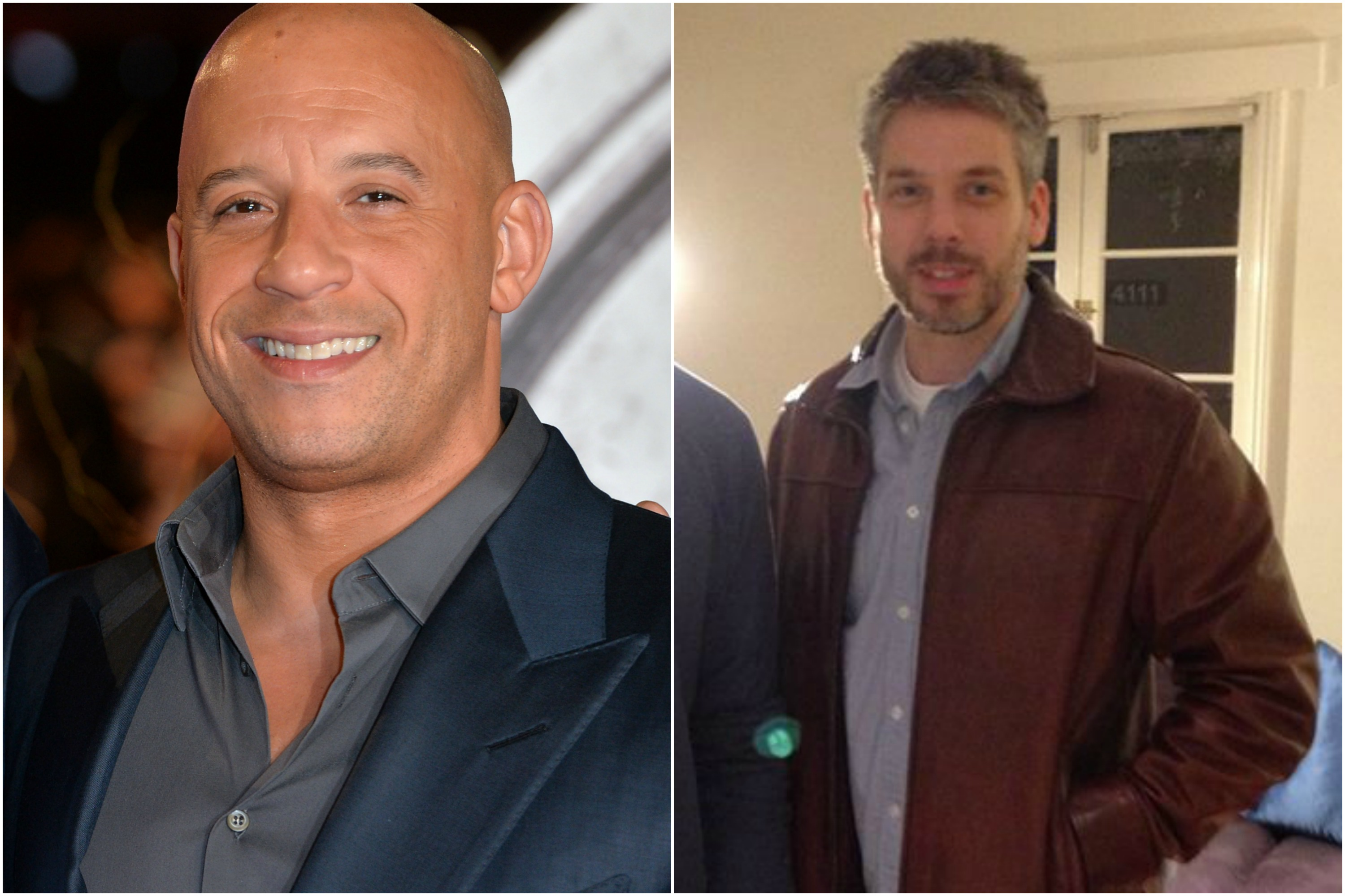 Paul walker and vin diesel in fast and 22 surprising celebrity twins celebrities who have a