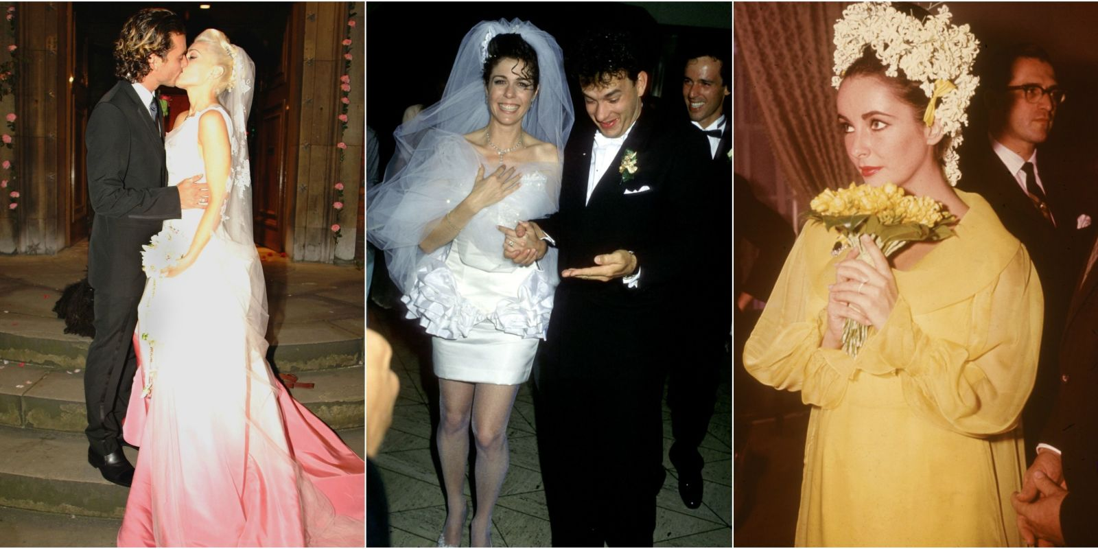 The Most Scandalous Wedding Dresses Of All Time Famous - Lady worst wedding guest history