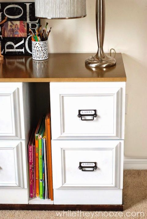 9 Filing Cabinet Makeovers New Uses For Cabinets