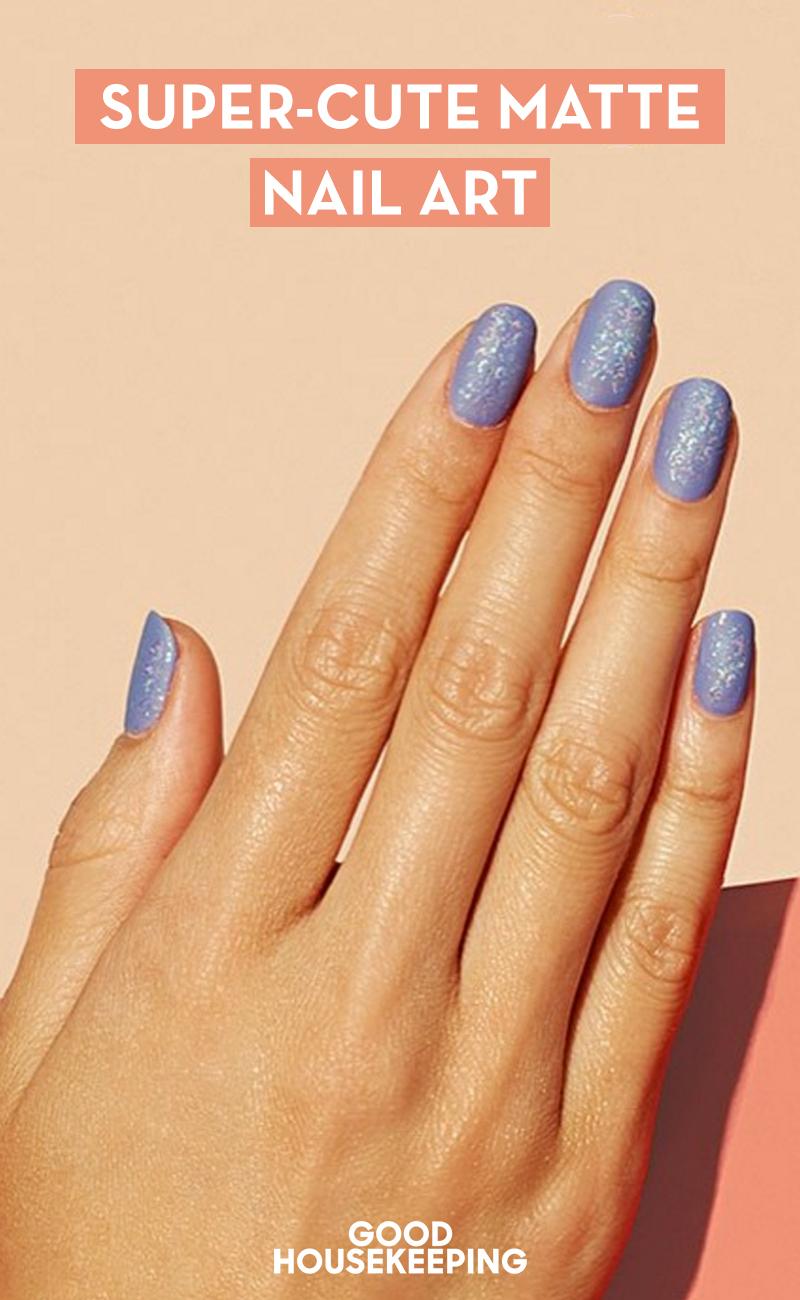 13 cool designs for matte nails matte nail art ideas prinsesfo Choice Image