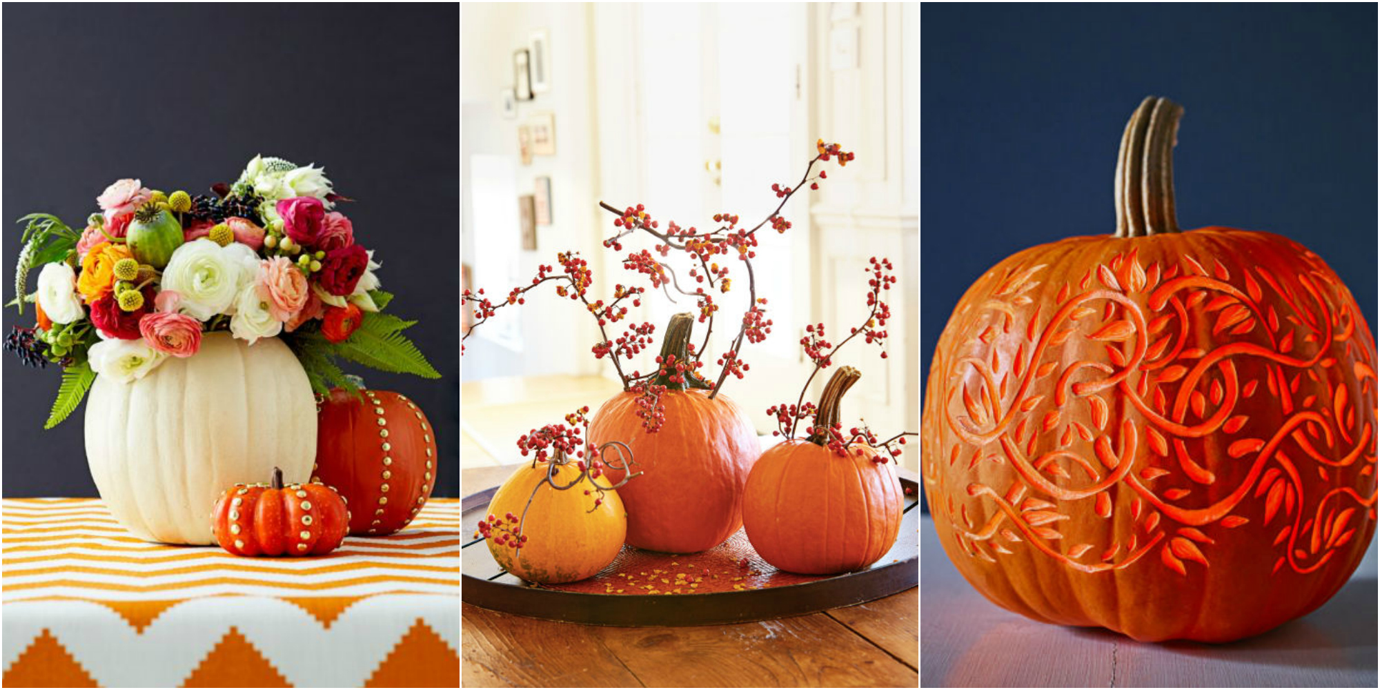 55 Pumpkin Designs We Love For 2017 Pumpkin Decorating Ideas