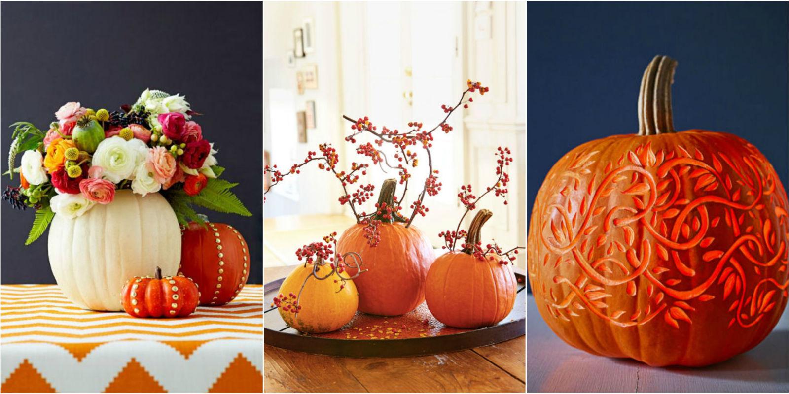 Pumpkin designs we love for decorating ideas