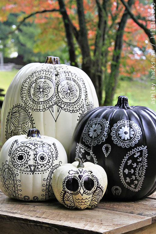 60 pumpkin designs we love for 2017 pumpkin decorating ideas - Halloween Pumpkin Designs Without Carving