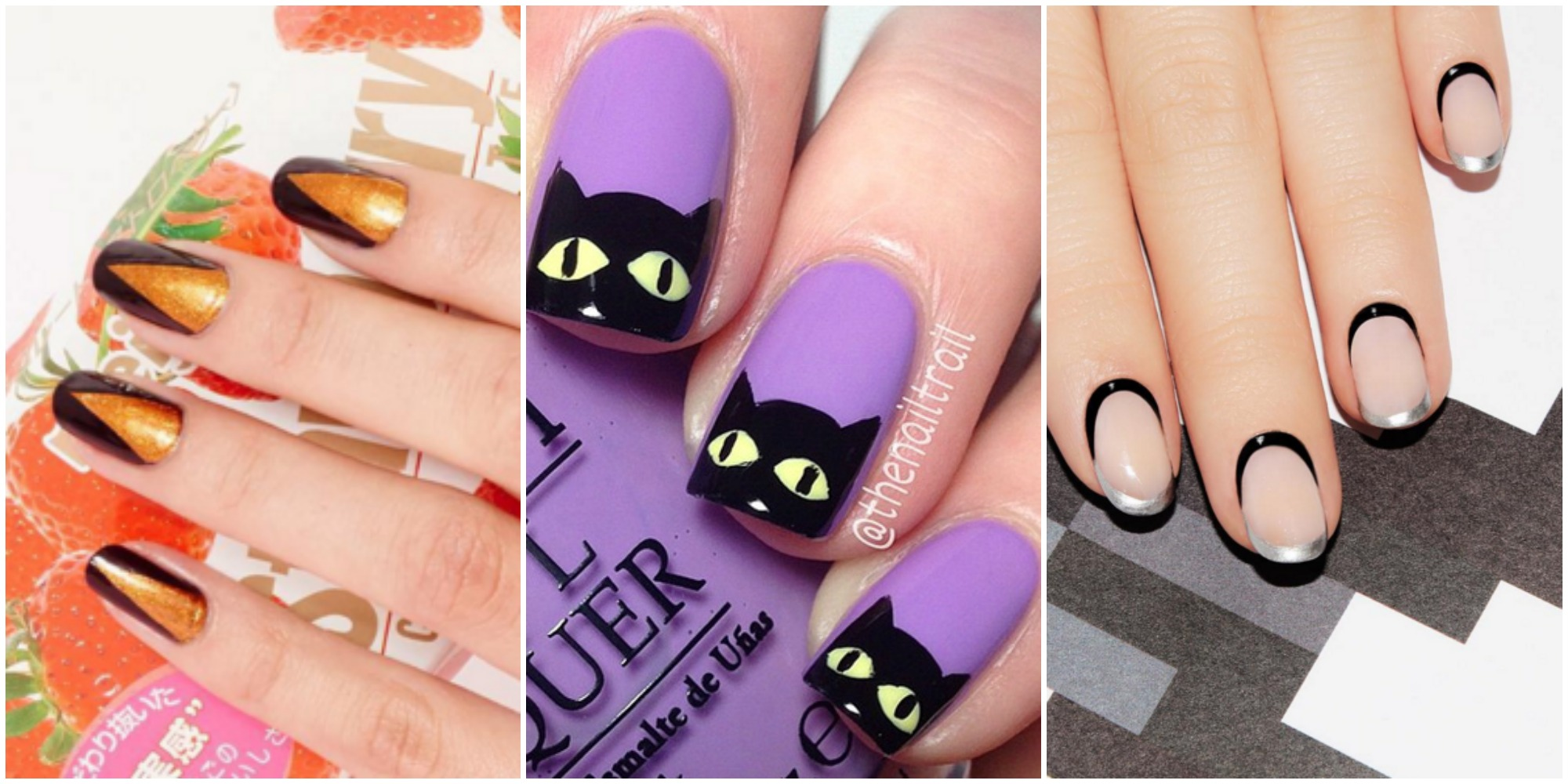50 Halloween Nail Art Ideas - Easy Halloween Nail Polish ...