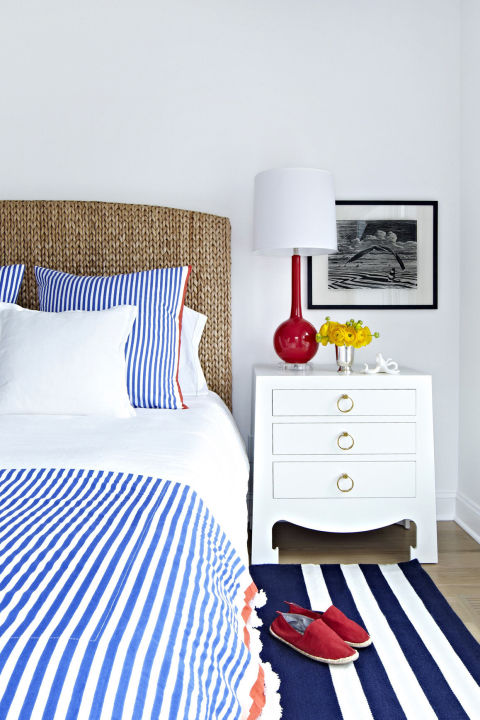 Here's the secret to nautical decor that's not over the top.