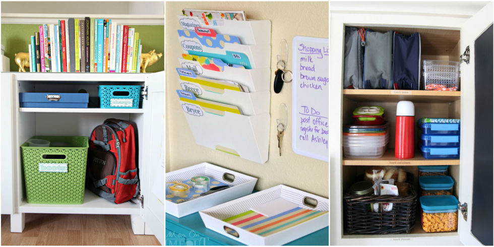 Organizing Tips Unique 27 Back To School Organizing Tips  Ideas For Going Back To School Inspiration