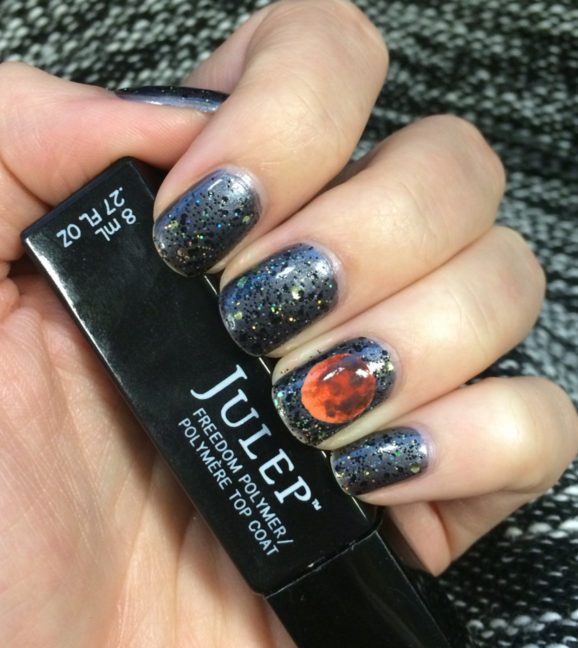 55 halloween nail art ideas easy halloween nail polish designs prinsesfo Gallery