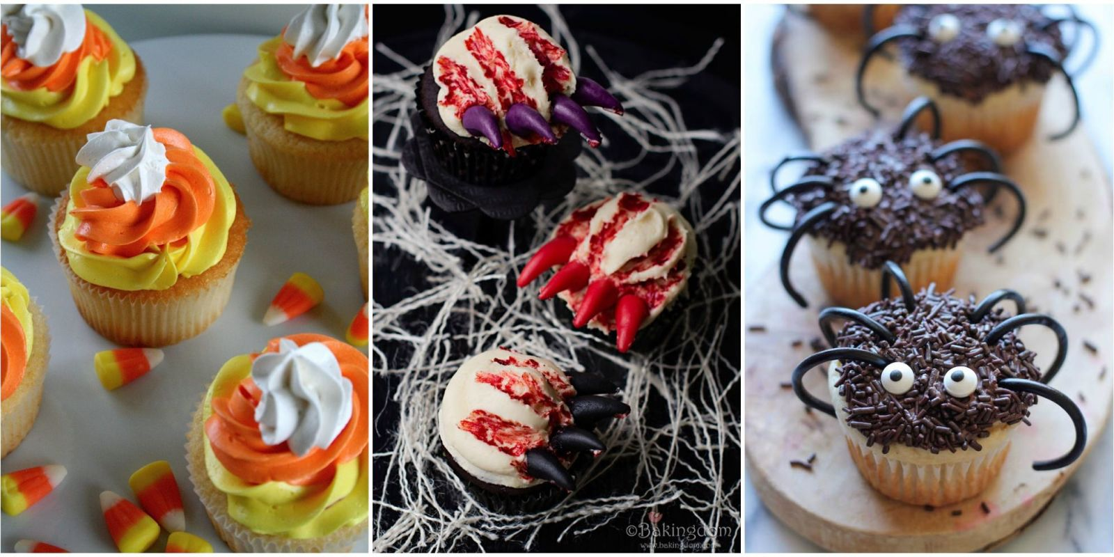 fun halloween cake ideas 33 cute halloween cupcakes easy recipes for halloween cupcake ideas - Scary Halloween Cupcake Ideas