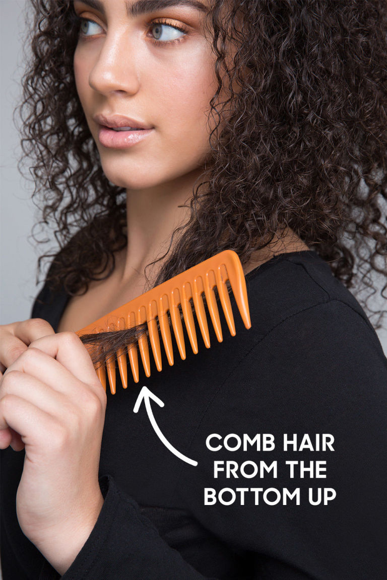 Best Curly Hair Tips How To Style Curly Hair - Styling curly dry hair