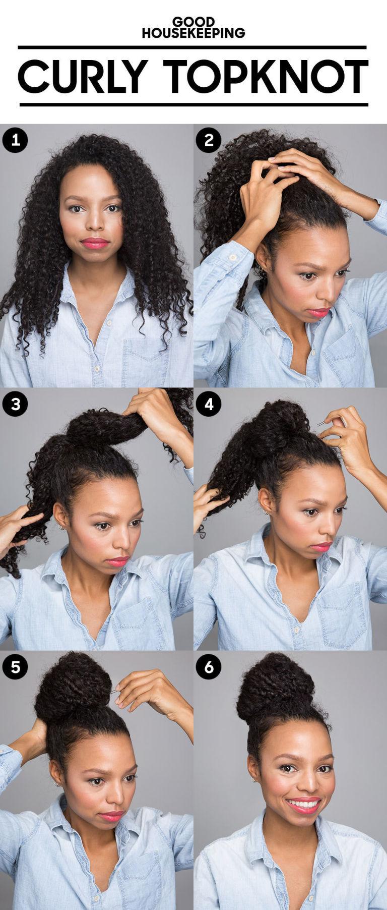 Вьющиеся волосы Советы