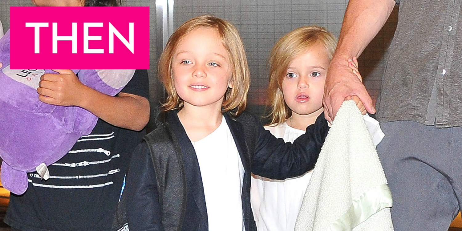 What Vivienne And Knox Jolie Pitt Look Like Now Angelina