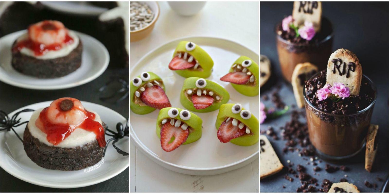 25 halloween party snacks creepy halloween party food for Cuisine halloween
