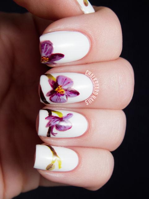 Beautiful nail designs for weddings bridal nail art ideas bridal nail art prinsesfo Image collections