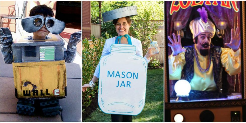 Scary halloween costumes you can make at home for Halloween decorations you can make at home