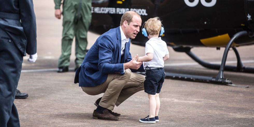 prince william parenting trick
