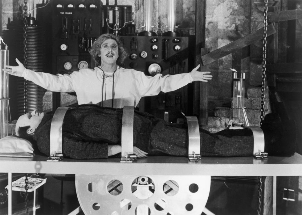 young frankenstein 1974 - Top Kids Halloween Movies