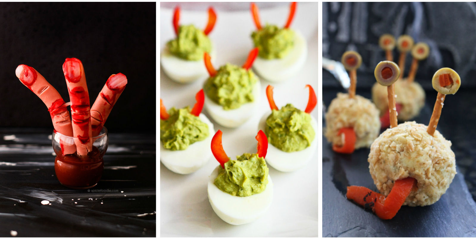 40 Easy Halloween Appetizers Recipes Ideas For