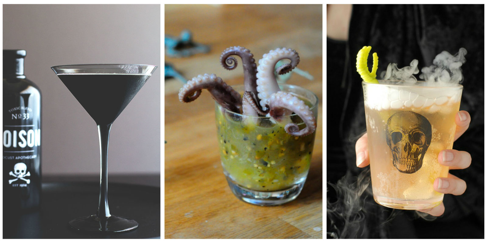 26 easy halloween cocktail recipes best halloween party for Easy alcoholic party drinks